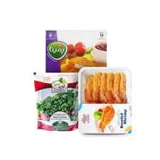 محصولات غذایی منجمد